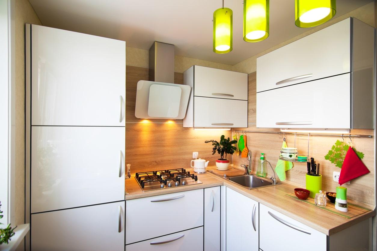 Installation of Small Kitchens in Edinburgh   HomeForce